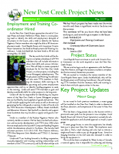 Newsletter 3, May 2009
